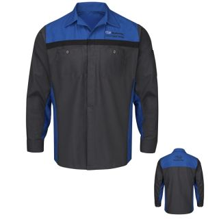 Subaru Long Sleeve Technician Shirt - SY14SU-Red Kap®
