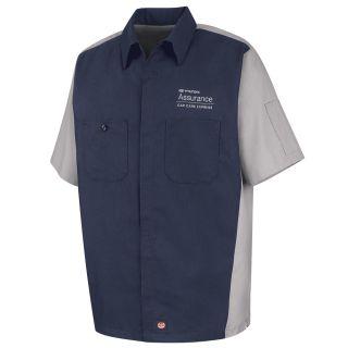 Hyundai Assurance Car Care Express Short Sleeve Technician Shirt - SY20HX-Red Kap®