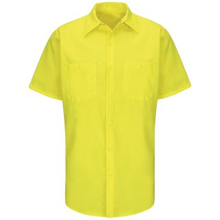 SY24_Enhanced Enhanced Visibility Ripstop Work Shirt-
