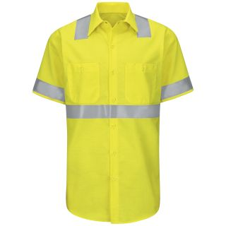 SY24_RipstopClass2 Hi-Visibility Ripstop Work Shirt Class 2 Level 2