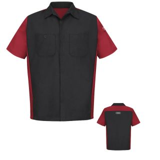 Audi Short Sleeve Technician Shirt - SY24AD-