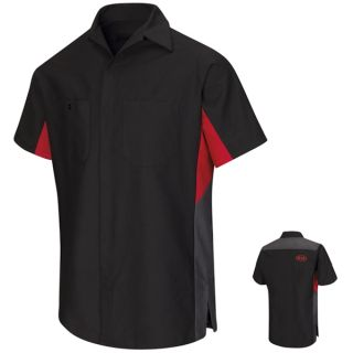 SY24KM KIA Technician Shirt-Red Kap®