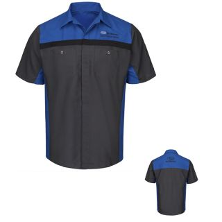 Subaru Long Sleeve Technician Shirt - SY24SU-Red Kap®