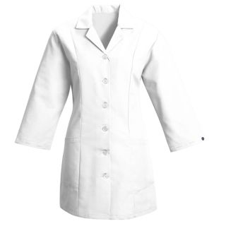 Womens Smock Fitted Adjustable Sleeve-Red Kap®