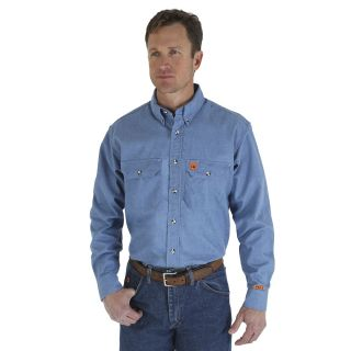 Chambray Work Shirt-Wrangler® FR