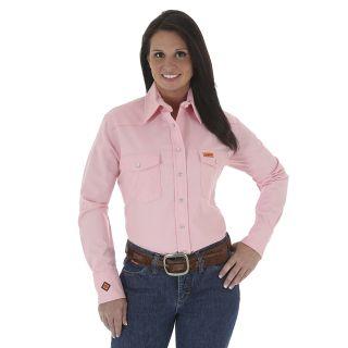 Womens Western Shirt-Wrangler® FR