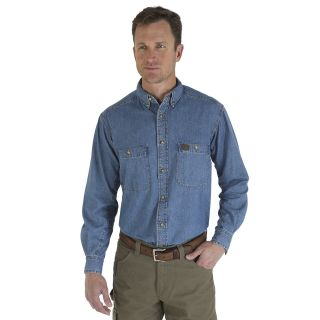 Denim Work Shirt-Wrangler® Riggs Workwear