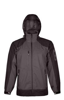 Waterproof / Breathable Men's Jacket - Black/Charcoal