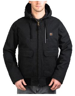 Bp Ins. Hooded Jacket-Blizzard-Pruf