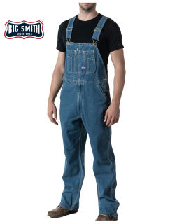 Wsh Den Bib Overall-Big Smith
