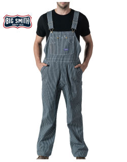 Zip Fly Bib Overall-Big Smith