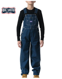 Wsh Denim Bib Overal-Big Smith