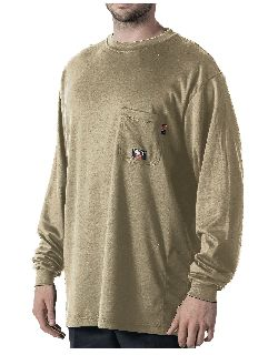 LS Crew Knit Tee Shirt