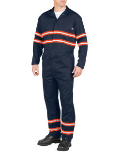 Enhanced Vis Coverall-Hi Vis