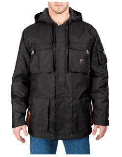 Modern Work Hood Coat-