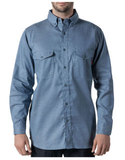 Chambray Work Shirt-Walls Fr