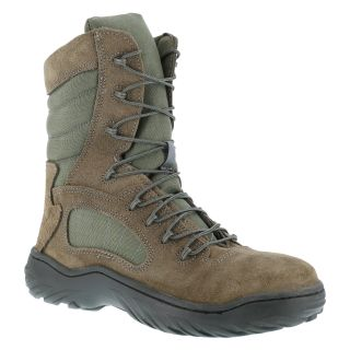 "Mens Steel Toe 8"" Tactical Boot with Side Zipper-Reebok"