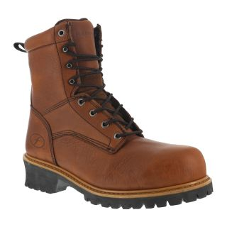 "Mens Composite Toe 9"" Logger Waterproof Boot-Florsheim"