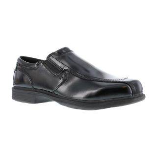 Mens Steel Toe Dress Slip On Oxford-