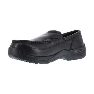 Mens Composite Toe Casual Moc Toe Twin Gore Slip-On