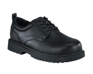 Mens Steel Toe Plain Toe Oxford-Grabbers
