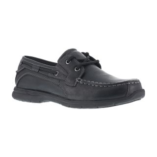 Mens Soft Toe Two Eye Tie Boat Shoe-Grabbers