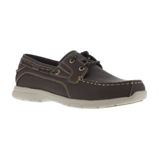 G0023 Mens Soft Toe Two Eye Tie Boat Shoe-Grabbers