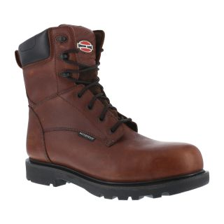 "Mens Composite Toe 8"" Waterproof Work Boot-Iron Age"