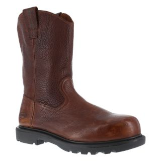 "Mens Composite Toe 11"" Wellington Work Boot-Iron Age"