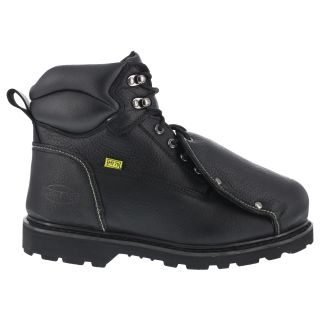 "Mens Steel Toe 6"" External Met Guard Work Boot-Iron Age"