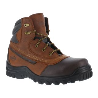"Mens Steel Toe 6"" Water Resistant Static Dissipative Work Boot-Iron Age"