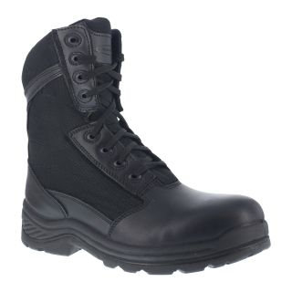 "Mens Soft Toe 8"" Tactical Boot with Side Zipper"