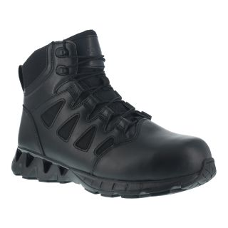 "Womens Composite Toe 6"" Tactical Boot with Side Zipper-"