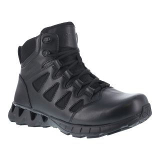 "Womens Soft Toe 6"" Tactical Waterproof Boot with Side Zipper-"