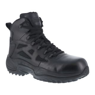 "RB8674 Mens Composite Toe Stealth 6"" Boot with Side Zipper-"