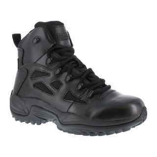 "Mens Soft Toe Stealth 6"" Boot with Side Zipper-"
