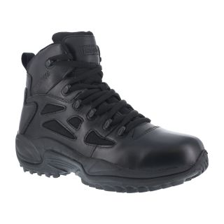 "Mens Soft Toe Stealth 6"" Waterproof Boot with Side Zipper-Reebok"