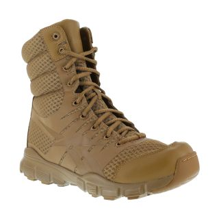 """Men's Soft Toe Seamless 8"""" Tactical Boot with Side Zip"""