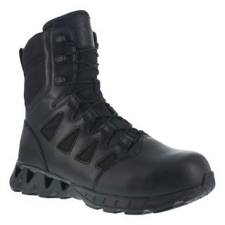 "RB8846 Mens Composite Toe 8"" Tactical Boot with Side Zipper-Reebok"