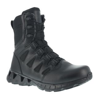 "Womens Soft Toe 8"" Tactical Boot with Side Zipper-Reebok"