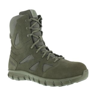 "RB8881 Mens Composite Toe 8"" Tactical Boot with Side Zipper-Reebok"