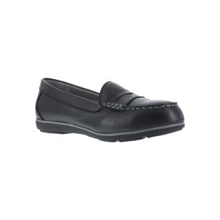 Womens Steel Toe Penny Loafer-Rockport Works