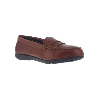 Womens Steel Toe Womens Penny Loafer-Rockport Works