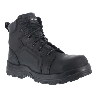 "Mens Composite Toe 6"" Lace to Toe Waterproof Work Boot-Rockport Works"