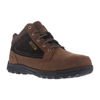 Mens Steel Toe Moc Toe Trail Hiker Mid-Rockport Works