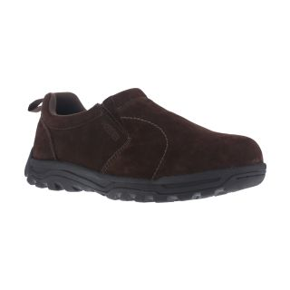 Mens Steel Toe Slip On Trail Jungle Moc-Rockport Works