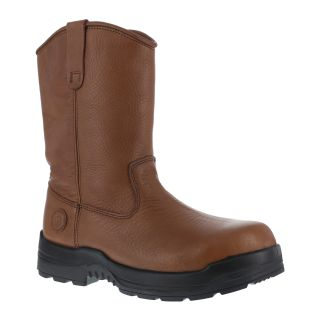 Mens Composite Toe Wellington Boot-Rockport Works