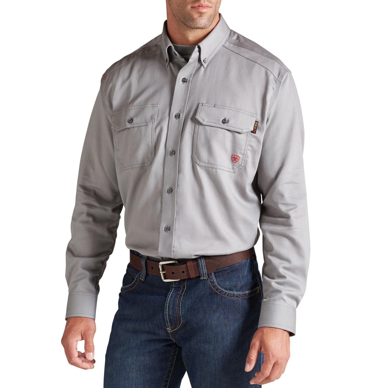 Ariat - FR Solid Work Shirt-Ariat