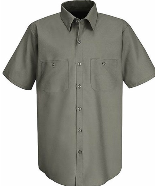 Red Kap - Cotton Work Shirt-Red Kap