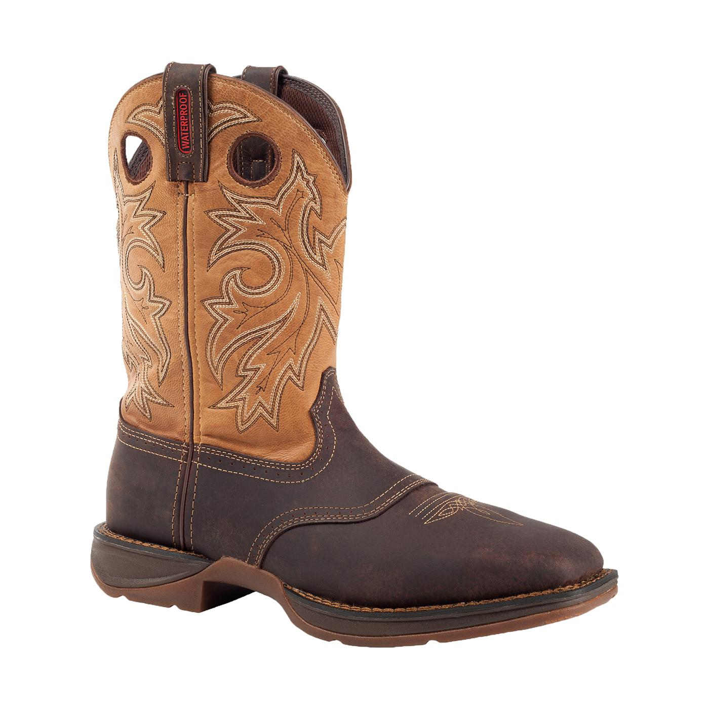 Durango - Rebel Pull-On Western Steel Toe Boot-Durango